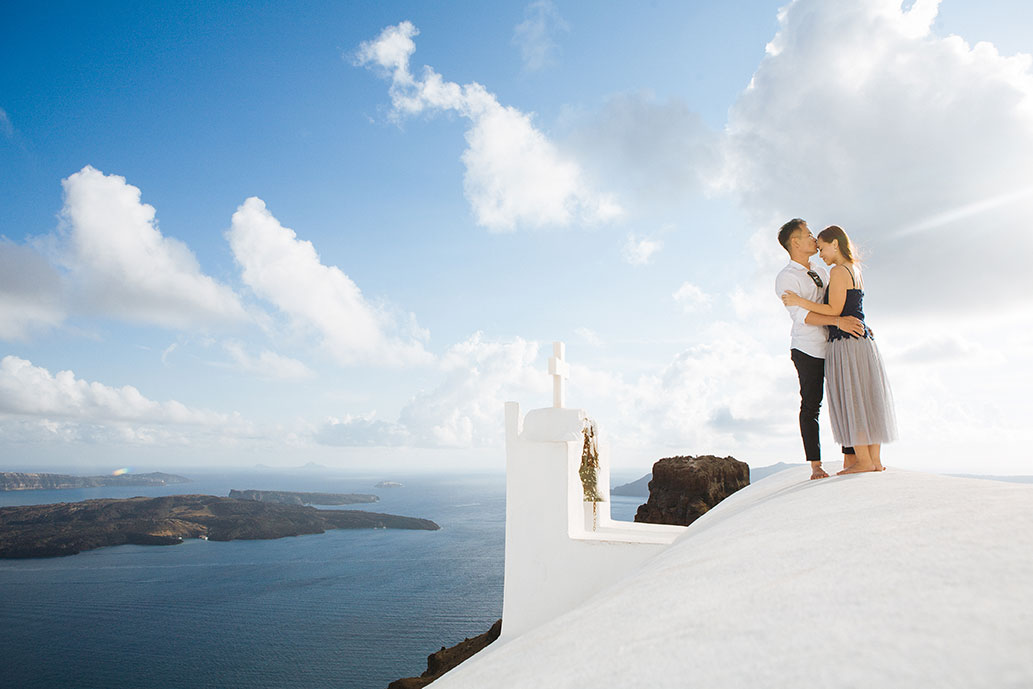 Outdoor Santorini photo shoot (private)
